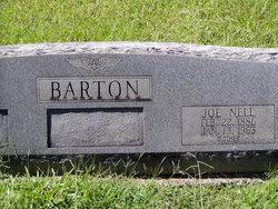 Joe Nell <I>McReynolds</I> Barton