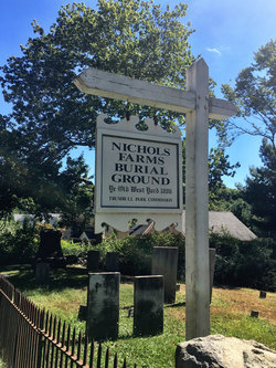 Nichols Farm Burial Ground - West Yard