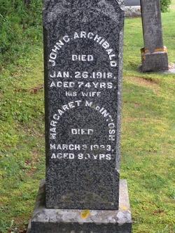 Margaret <I>MacIntosh</I> Archibald