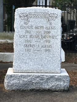 Eulalie <I>Jacob</I> Alexis