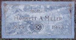 Harriett Ann <I>Swarts</I> Miller
