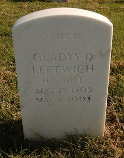 Gladys D Leftwich