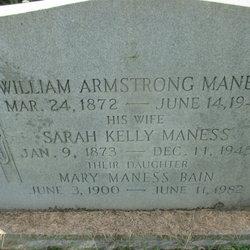 Mary Elizabeth <I>Maness</I> Bain
