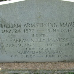 William Armstrong Maness, Jr
