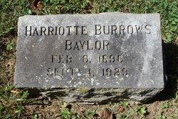 Harriotte Burrows Baylor