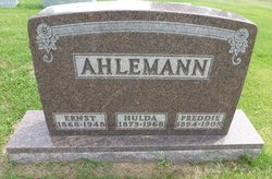 "Frederick William ""Freddie"" Ahlemann"