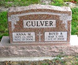 Boyd R. Culver