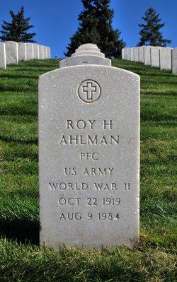 Roy H Ahlman