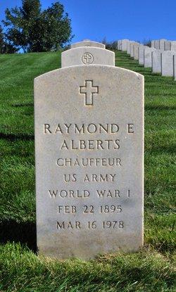 Raymond E Alberts
