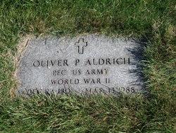 Oliver P Aldrich