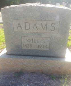 """William S """"Will"""" Adams"""