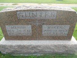 Mary Catherine <I>Hibbs</I> Gunter
