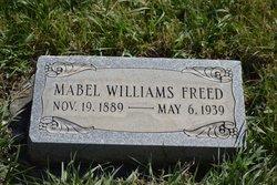 Mabel <I>Williams</I> Freed