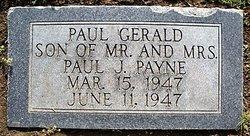 Paul Gerald Payne