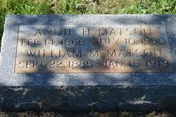 Annie H Matson