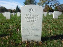 Pvt Norman Douglas Acuff