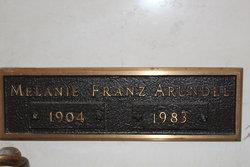 Melanie <I>Franz</I> Arundel