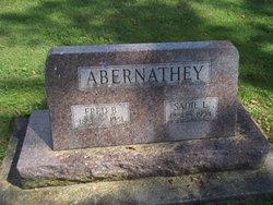 Sadie L <I>Holmes</I> Abernathey