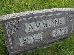 Mary <I>Evans</I> Ammons