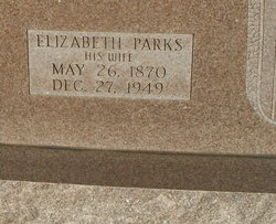 Elizabeth A <I>Parks</I> Ridgway