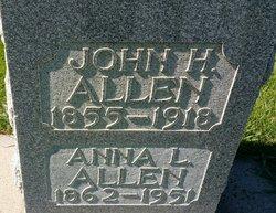 Anna L. <I>Owens</I> Allen
