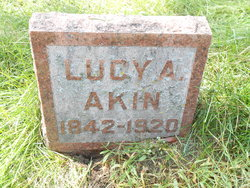 Lucy Ann <I>Kellogg</I> Akin