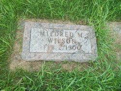 Mildred M Wilson