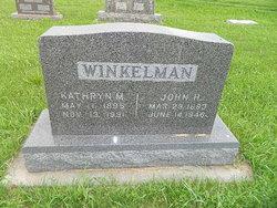John H Winkelman