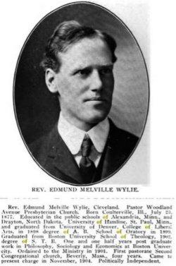 Edmund Mellville Wylie