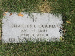 Charles E Quickle