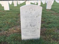 Gerald R Matson