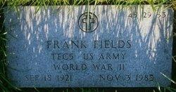Frank Fields