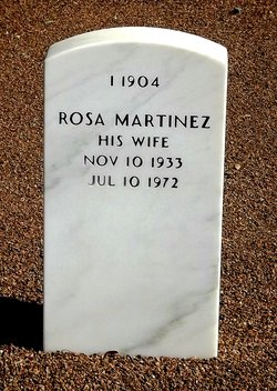 Rosa <I>Martinez</I> Garcia