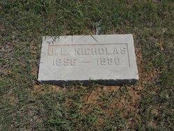 James L. Nicholas