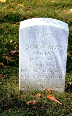 Doris Mae <I>Hallermann</I> Askins