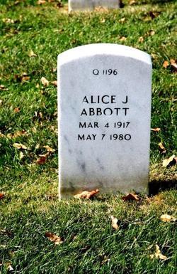 Alice J Abbott