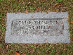 Louise <I>Thompson</I> Abbott