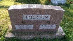 Elizabeth Rilla <I>Brokaw</I> Emerson