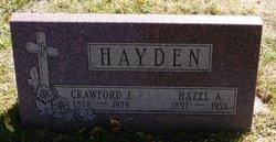Hazel Amelia <I>Daigle</I> Hayden