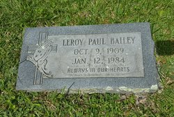 Leroy Paul Bailey