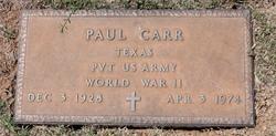 Paul Carr
