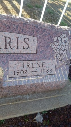 Irene <I>Warner</I> Harris