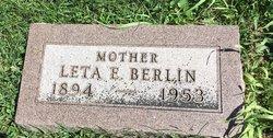 "Leta Ethel ""Lettie"" <I>Gilbert</I> Berlin"