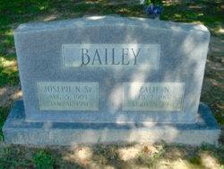 Joseph N Bailey, Sr