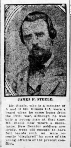 James F Steele
