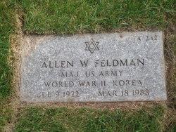 Allen W Feldman