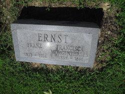Francisca <I>Morgenthaler</I> Ernst