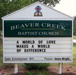 Beaver Creek Baptist Cemetery