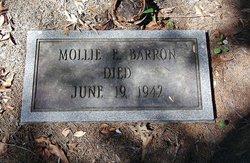 Mollie E Barron