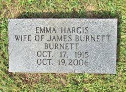 Emma Cestella <I>Hargis</I> Burnett